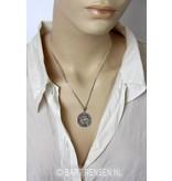 Pentagram hanger - echt zilver