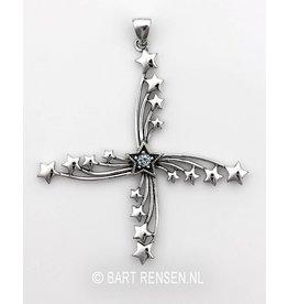 Sterren hanger - zilver