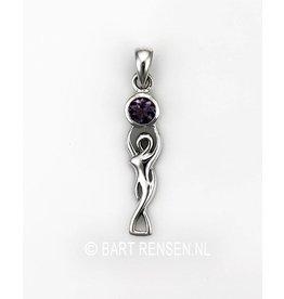 Goddess Pendant - silver