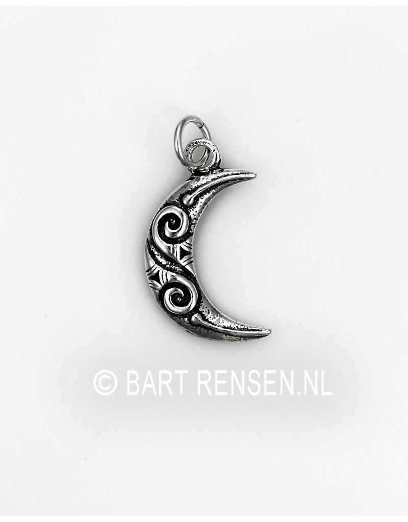 Moon Pendant - sterling silver