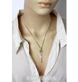 Danu godinnen hanger - echt zilver