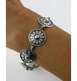 Chakra bracelet - sterlingl silver
