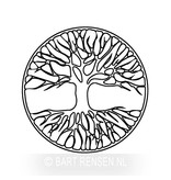 Engraving - Tree of life