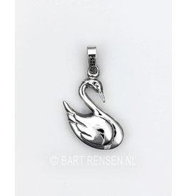 Swan pendant-silver