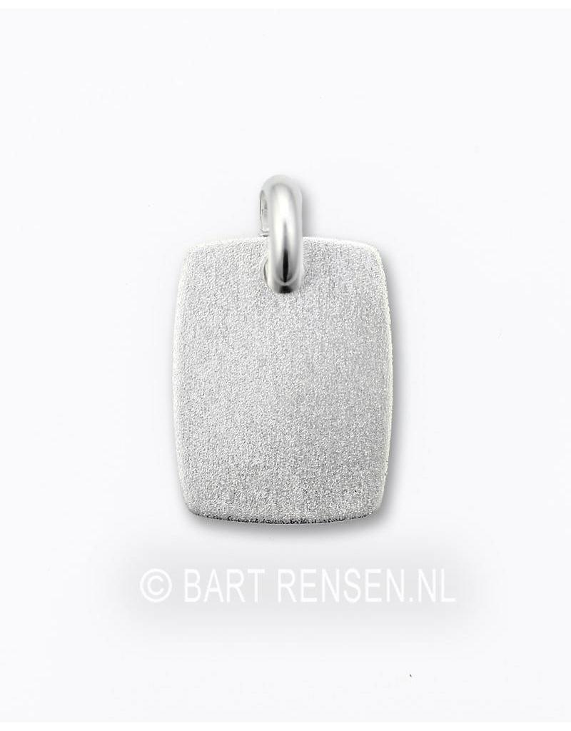 Engrave pendant - sterling silver
