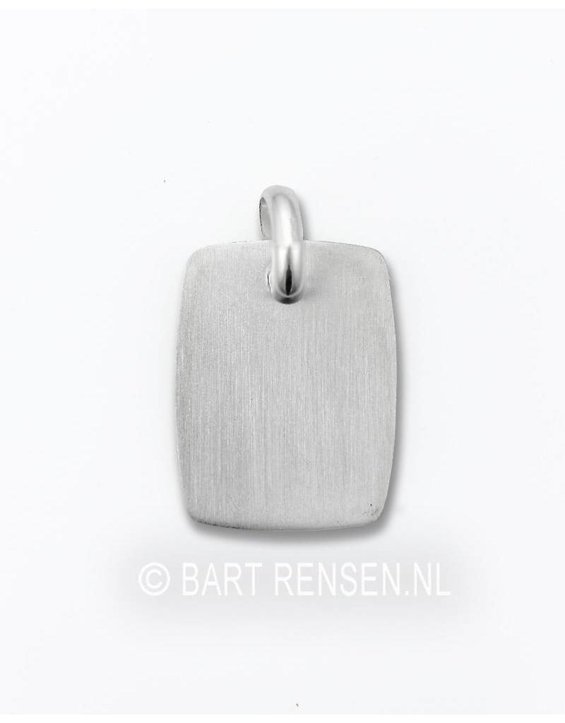 Graveer hanger - echt zilver
