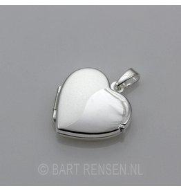 Zilveren Hart Medaillon -
