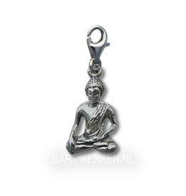 Buddha charm - silver