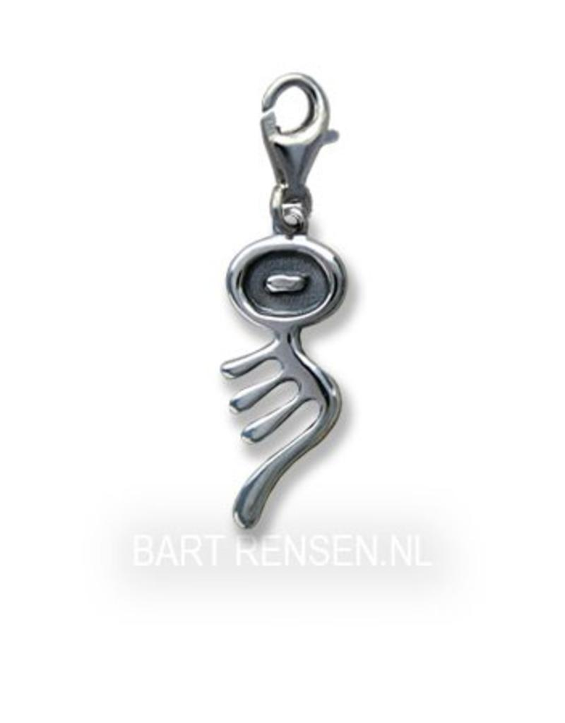 I Tjing Charm - sterling silver