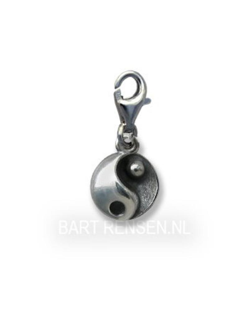 Yin Yang Charm - sterling silver