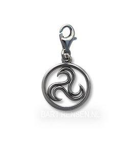 Triskel Charm - silver
