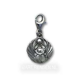 Silver Scarabee Charm