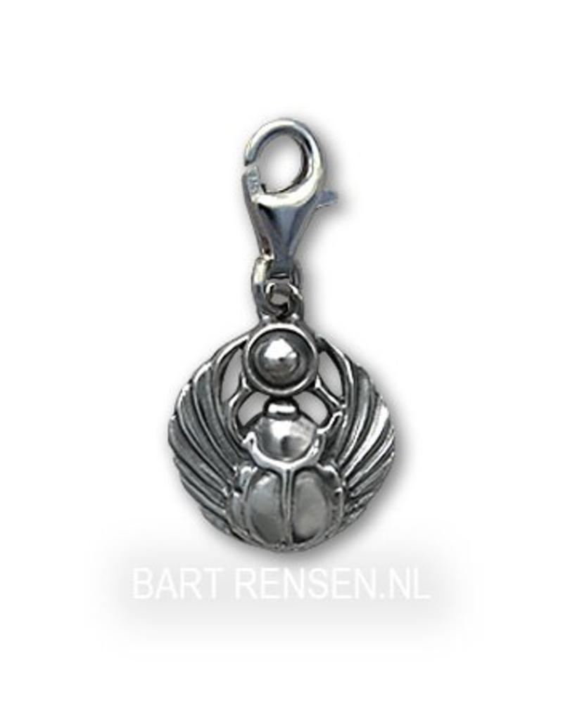 Scarabee Charm - echt zilver