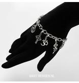Keltisch Kruis Charm - echt zilver