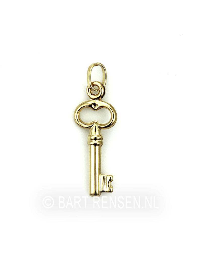 Sleutel hanger - 14 krt goud