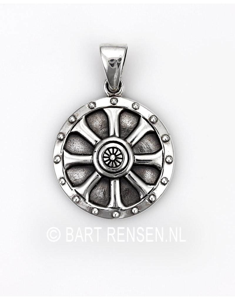 Viking Schild hanger - echt zilver