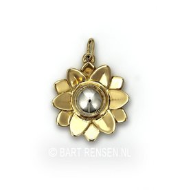 Ash pendant Lotus - gold
