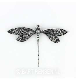 Dragonfly pendant - silver