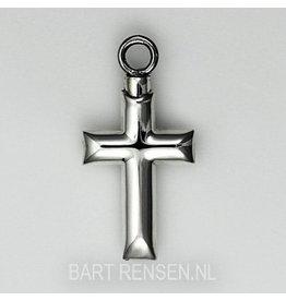 Memory Cross Pendant - Silver