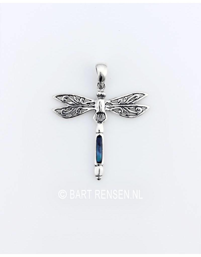 Libelle hanger - echt zilver