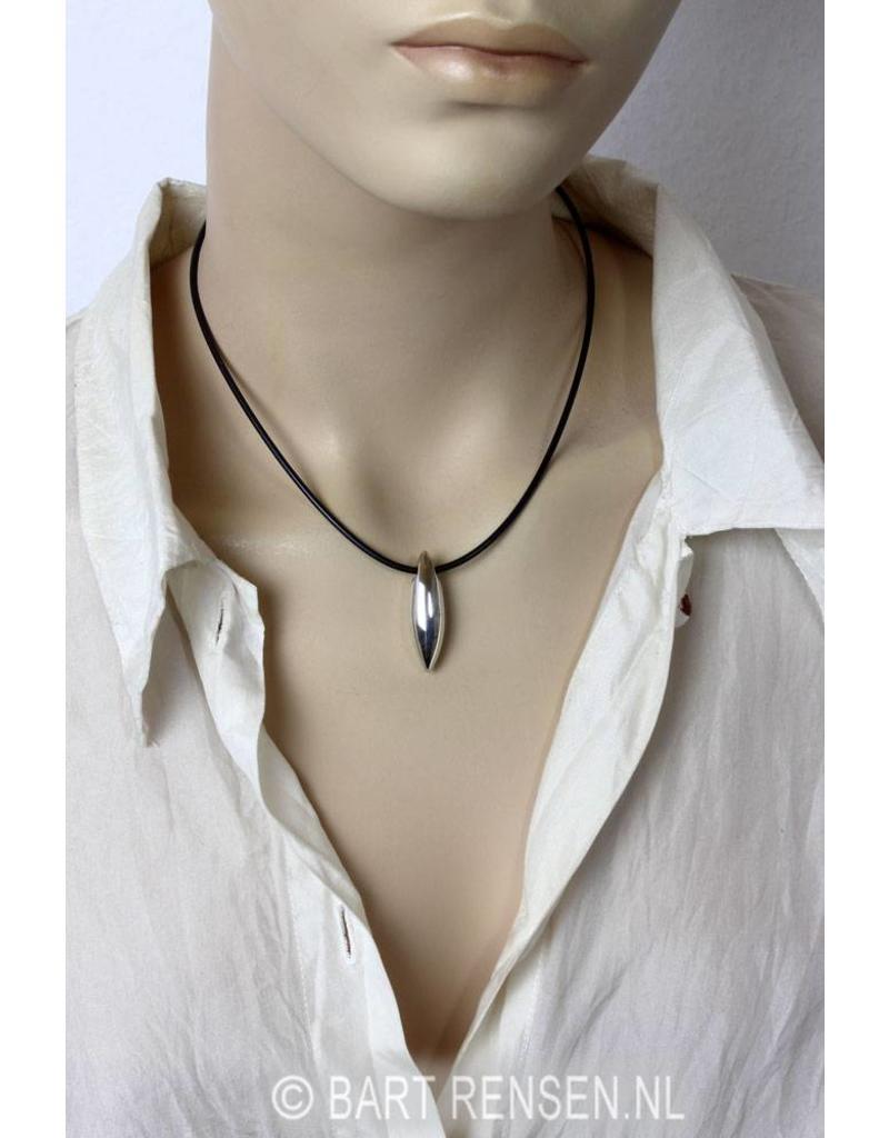 Pegel hanger - echt zilver