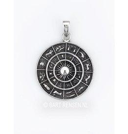 Horoscoop hanger - zilver