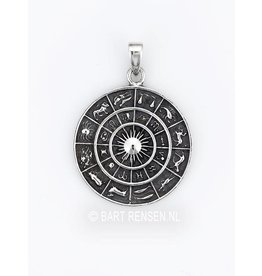 Horoscope Pendant - Silver