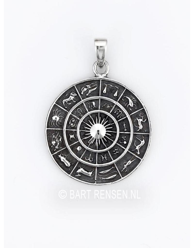 Horoscope Pendant - sterling silver