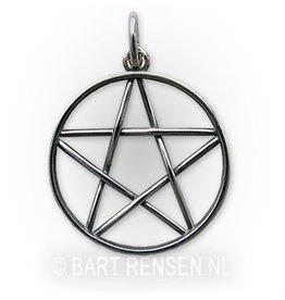 Pentagram hanger – Silver