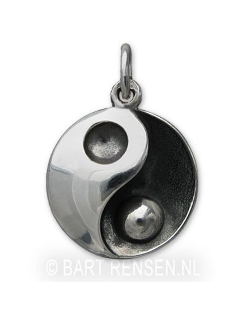 As hanger Yin Yang - echt zilver
