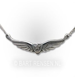 Soefi hanger - zilver