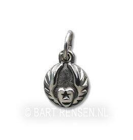Silver Sufi pendant