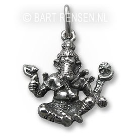 Ganesha pendant - Silver