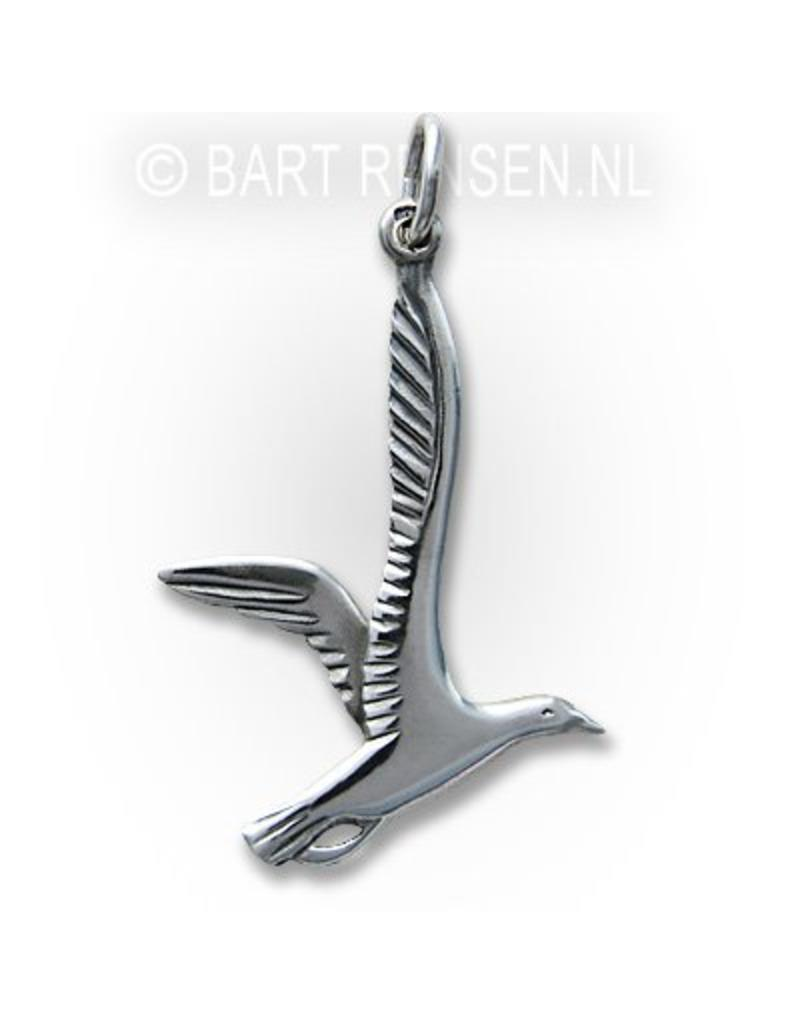 Seagull Pendant - sterling silver