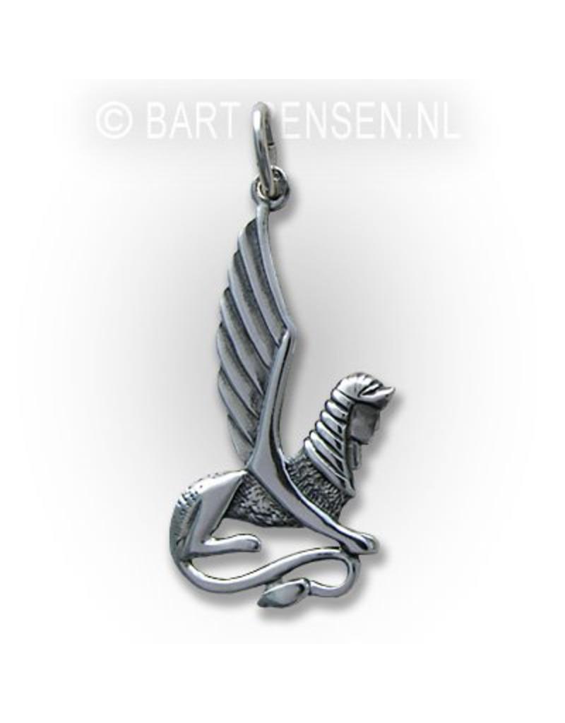 Sfinx hanger - echt zilver