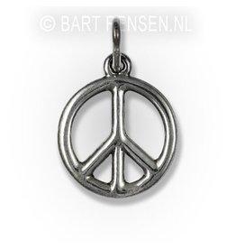 Zilveren Vredesteken hanger