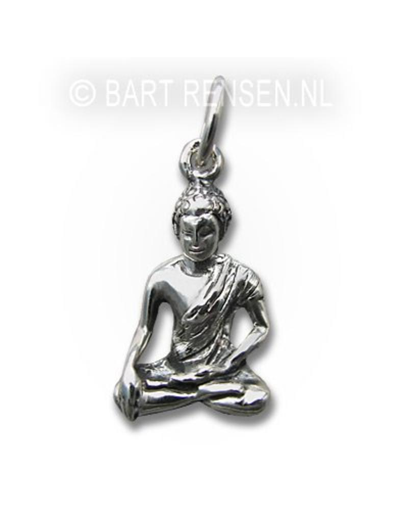 Buddha pedant - sterling silver