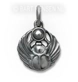 Scarabee pendant - sterling silver