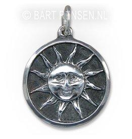 Zon hanger - zilver