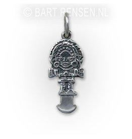 Tumi pendant - silver