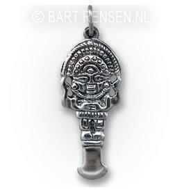 Silver Tumi pendant