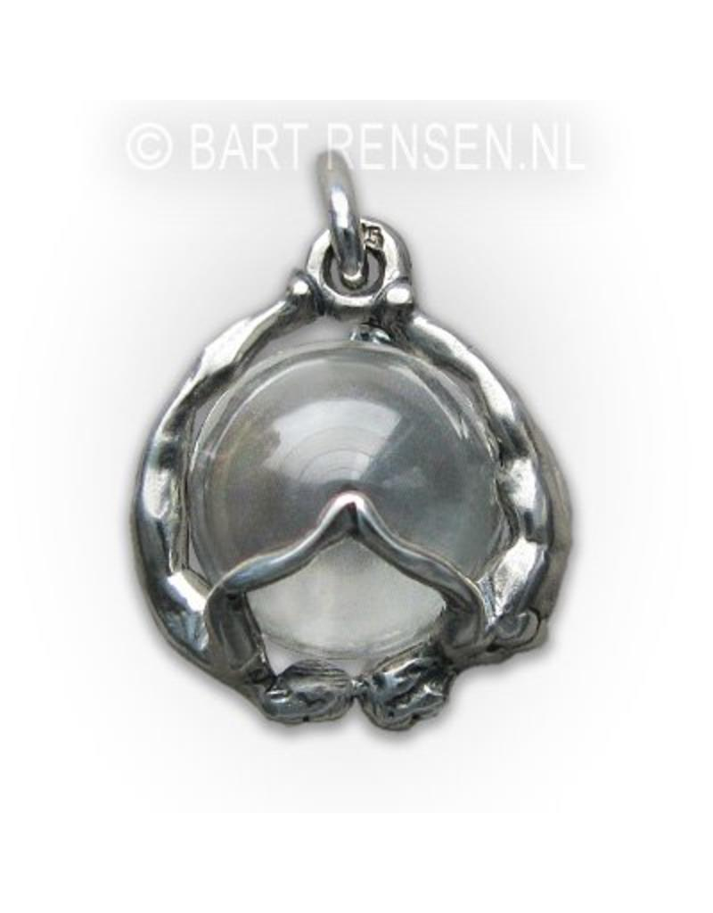 Trust pendant - sterling silver