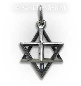 Merkaba pendant - silver