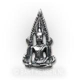 Buddha pendant - sterling silver
