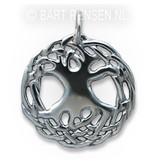 Keltische Levensboom hanger - echt zilver