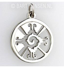 Hunab Ku pendant - silver