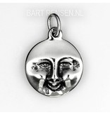 Smile - Cry pendant - sterling silver