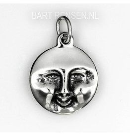 Smile - Cry pendant - silver