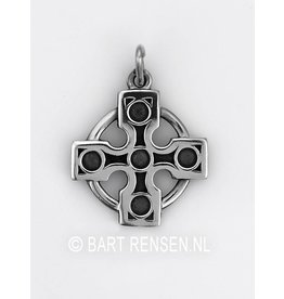 Druids Cross Pendant - Silver