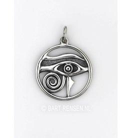 Horus-eye pendant - silver